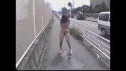 Japanese Nude Outdoor Public Power Pissing