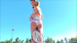 Aurora - Tennis Playing Teen