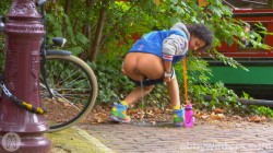 Arianna - Masturbating in public