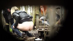 Hidden Cam in Russian Forest