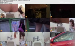 EE-053 03 Multi view toilet voyeur. Girls caught peeing and blowing farts