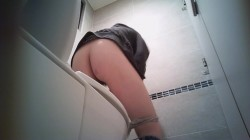 Spying in the toilet