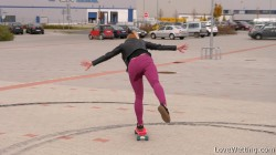 Chrissy Fox - Skateboard girl