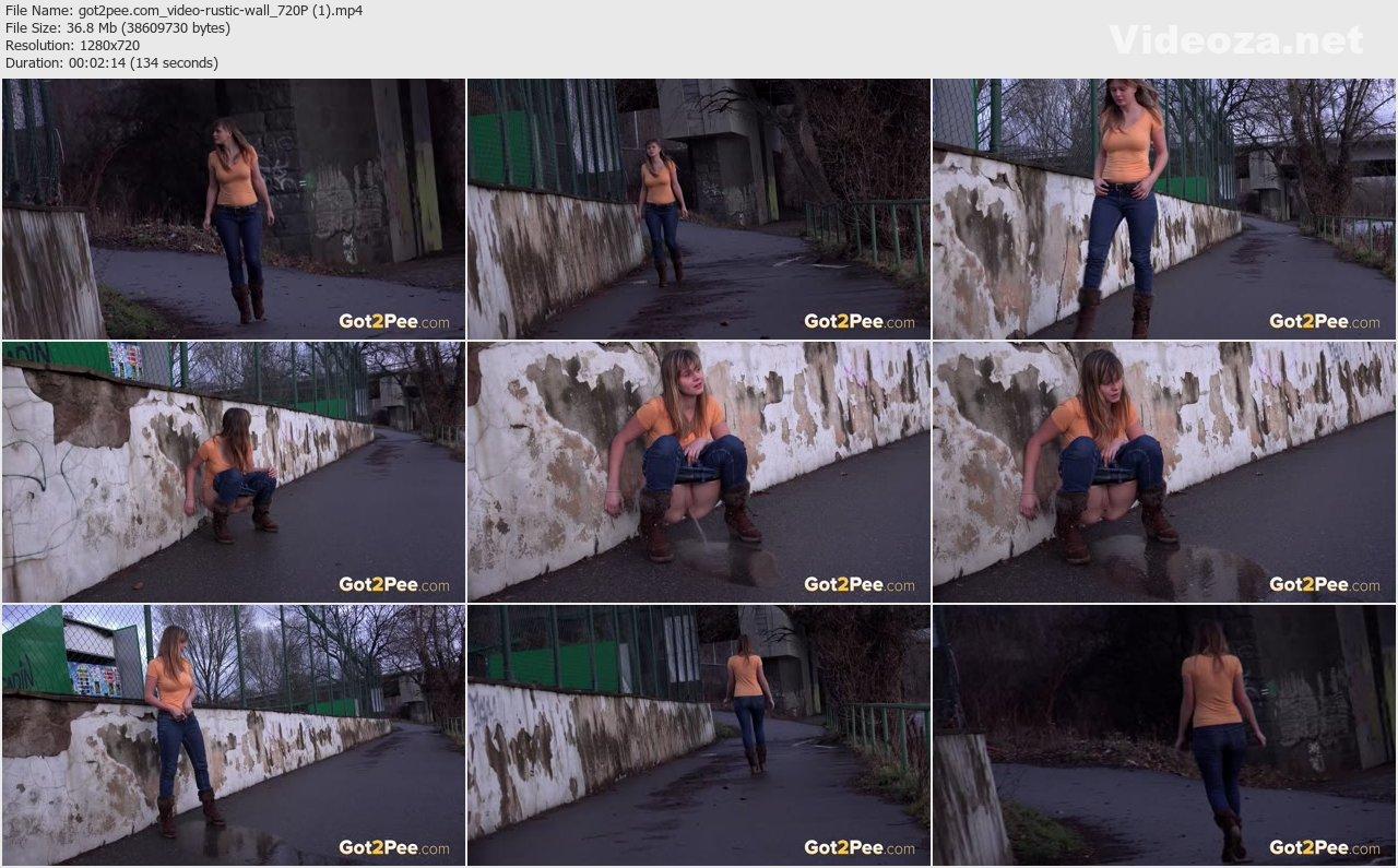 Against The Wall Porn Bideos rustic wall » pissrip: free pissing videos - porno, xxx