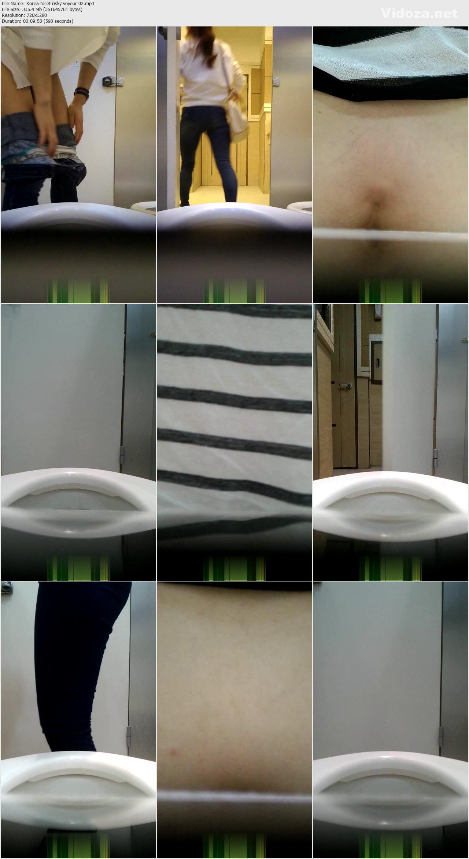 Korean toilet voyeur