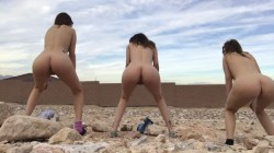 lexie fux lex-zia-and-violet-pee-outside-naked