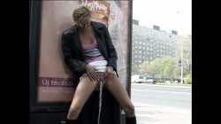 Extreme Public Piss Girls 10
