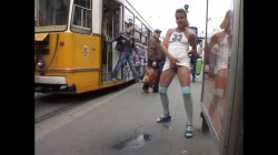 Extreme Public Piss Girls 19