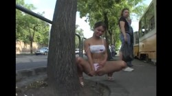 Extreme Public Piss Girls 32