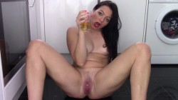Evamarie88 - Pee Gurgling And Squirt Snack