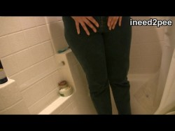 I Need 2 Pee (indoor pee in jeans) 08