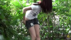 PM105  Outdoor shitting and pissing voyeur  Nothing to wipe with! 07 (Pee)